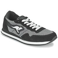Schoenen Dames Lage sneakers Kangaroos INVADER TWEED Grijs / Zwart