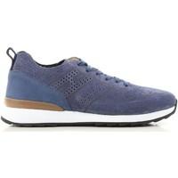 Schoenen Heren Lage sneakers Hogan HXM2610K200IHHU803 blu
