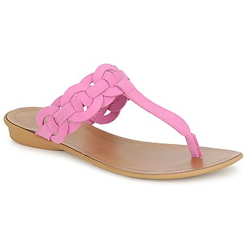 Schoenen Dames Slippers Esprit KARAYAN TONGUE Fuschia