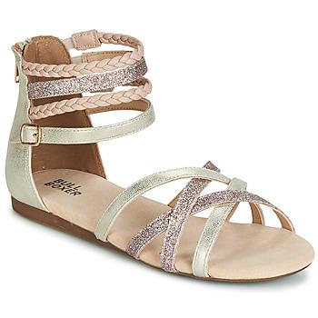 Schoenen Meisjes Sandalen / Open schoenen Bullboxer AED009 Goud / Roze