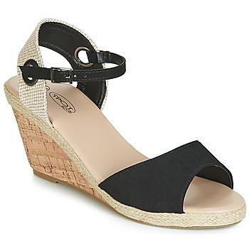 Schoenen Dames Sandalen / Open schoenen Spot on F2265 Zwart