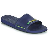 Schoenen Slippers Havaianas SLIDE BRASIL Blauw