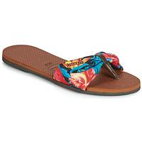 Schoenen Dames Slippers Havaianas YOU ST TROPEZ Bloem