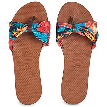 Schoenen Dames Slippers Havaianas YOU SAINT TROPEZ Bloem