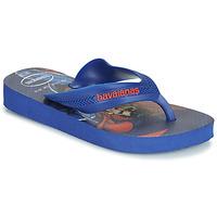 Schoenen Jongens Slippers Havaianas KIDS MAX HEROIS Blauw
