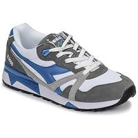 Schoenen Heren Lage sneakers Diadora N 9000 III Wit / Grijs / Turquoise