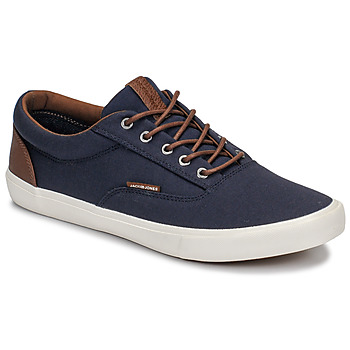 Schoenen Heren Lage sneakers Jack & Jones VISION CLASSIC MIXED Marine