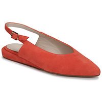 Schoenen Dames Ballerina's Fericelli IKIRUA Rood