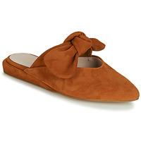 Schoenen Dames Leren slippers Fericelli JILONIE  camel