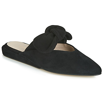 Schoenen Dames Leren slippers Fericelli JILONIE Zwart