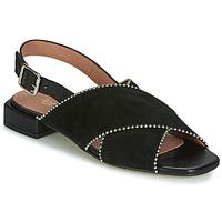 Schoenen Dames Sandalen / Open schoenen Fericelli JANELLE Zwart
