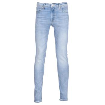 Textiel Heren Skinny jeans Jack & Jones JJILIAM Blauw