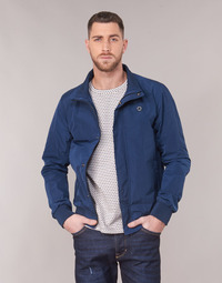 Textiel Heren Wind jackets Scotch & Soda AMS BLAUW SIMPLE HARRINGTON JACKET Marine