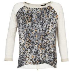 Textiel Dames Truien One Step TWIST Ecru / Grijs