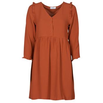 Textiel Dames Korte jurken Betty London JOELIE Brown