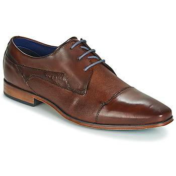 Schoenen Heren Derby Bugatti TROISKATR Brown