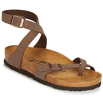 Schoenen Dames Sandalen / Open schoenen Birkenstock YARA Brown