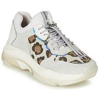 Schoenen Dames Lage sneakers Bronx BAISLEY Wit / Leopard