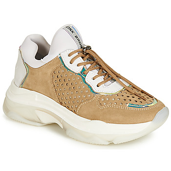 Schoenen Dames Lage sneakers Bronx BAISLEY Wit / Brown