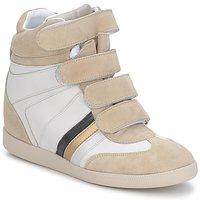 Schoenen Dames Lage sneakers Serafini MANATHAN SCRATCH Wit-beige-blauw