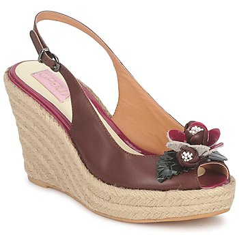 Schoenen Dames Sandalen / Open schoenen C.Petula GLORIA Brown /  FUCHSIA