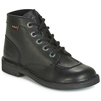 Schoenen Dames Laarzen Kickers KICK COL Zwart