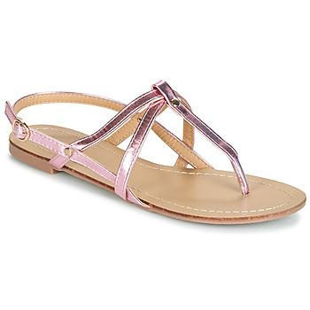 Schoenen Dames Sandalen / Open schoenen Moony Mood JEKERINE Roze / Métal
