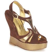 Schoenen Dames Sandalen / Open schoenen Terry de Havilland FARAH Chocolade