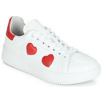 Schoenen Dames Lage sneakers Yurban JIBOUILLE Wit