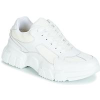 Schoenen Dames Lage sneakers Yurban JILIBELLE Wit
