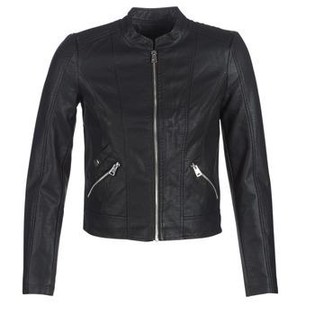 Textiel Dames Leren jas / kunstleren jas Vero Moda VMKHLOE Zwart
