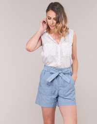 Textiel Dames Tops / Blousjes Vero Moda VMERIKA Wit / Zwart