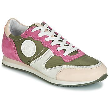 Schoenen Dames Lage sneakers Pataugas IDOL/MIX Kaki / Violet / Beige