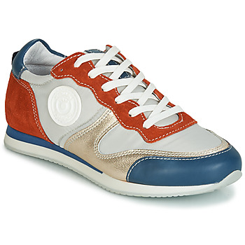 Schoenen Dames Lage sneakers Pataugas IDOL/MIX Orange / Beige / Blauw