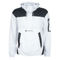 Textiel Heren Windjacken Columbia CHALLENGER WINDBREAKER Wit / Zwart