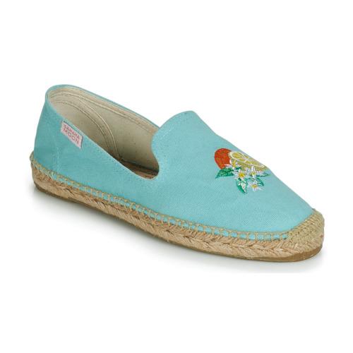 Schoenen Dames Espadrilles Banana Moon LAIRIS Blauw