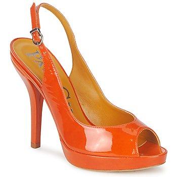 Schoenen Dames Sandalen / Open schoenen Paco Gil STAR FIZO Orange