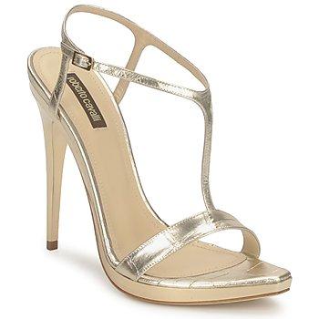 Schoenen Dames Sandalen / Open schoenen Roberto Cavalli RDS736 Gold
