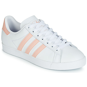 Schoenen Dames Lage sneakers adidas Originals COURSTAR Wit / Roze