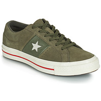 Schoenen Dames Lage sneakers Converse ONE STAR CUIR FASHION BALLER SUEDE OX Kaki