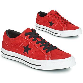 Schoenen Heren Lage sneakers Converse ONE STAR DARK STAR VINTAGE SUEDE OX Rood