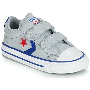 Schoenen Jongens Lage sneakers Converse STAR PLAYER 2V CANVAS OX Grijs