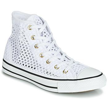 Schoenen Dames Hoge sneakers Converse CHUCK TAYLOR ALL STAR HANDMADE CROCHET HI Wit