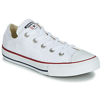 Schoenen Meisjes Lage sneakers Converse CHUCK TAYLOR ALL STAR BROADERIE ANGLIAS OX Wit