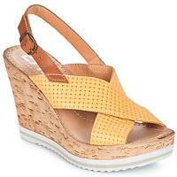 Schoenen Dames Sandalen / Open schoenen Elue par nous EMPIRE Geel