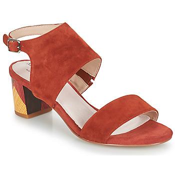 Schoenen Dames Sandalen / Open schoenen Metamorf'Ose EMBARQUA Rood