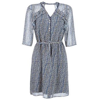 Textiel Dames Korte jurken One Step FLORUS Marine / Multikleuren