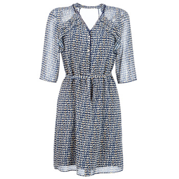 Textiel Dames Korte jurken One Step FLORUS Marine / Multicolour