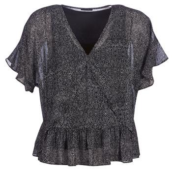 Textiel Dames Tops / Blousjes Ikks BN11175-02 Zwart