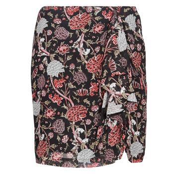 Textiel Dames Rokken Ikks BN27105-02 Zwart / Multikleuren